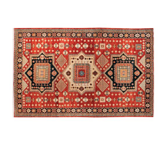 arzu studio hope majestic hand knotted rug pottery barn