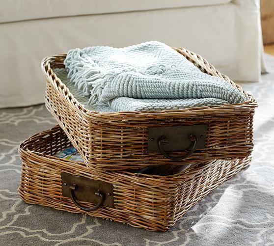 Caden Rectangular Ottoman Basket