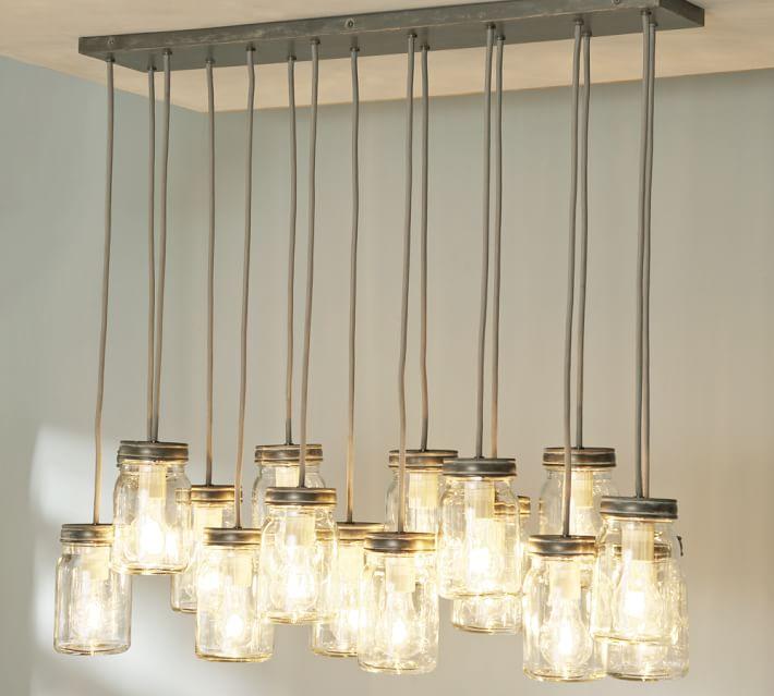 exeter 16 jar chandelier pottery barn chandelier barn board
