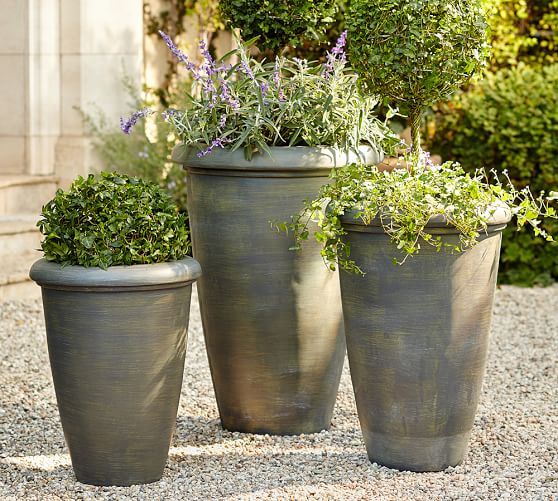 Pottery Barn Vases And Planters: Exbury Planters