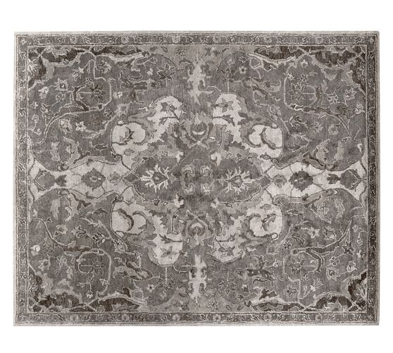 Persian Rugs From Iran: Nolan Persian Rug - Gray