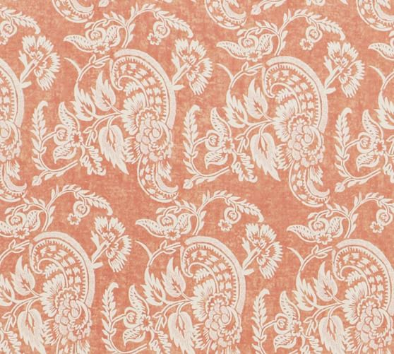 Alessandra Floral Fabric Swatch Pottery Barn