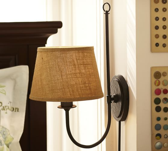 Plug In Wall Sconces Pottery Barn : Madeline Sconce Pottery Barn