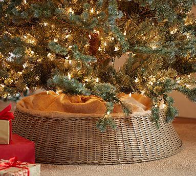 Homemade Christmas Tree Skirt
