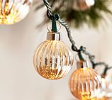 Jewel Tone Mercury Glass String Lights Pottery Barn