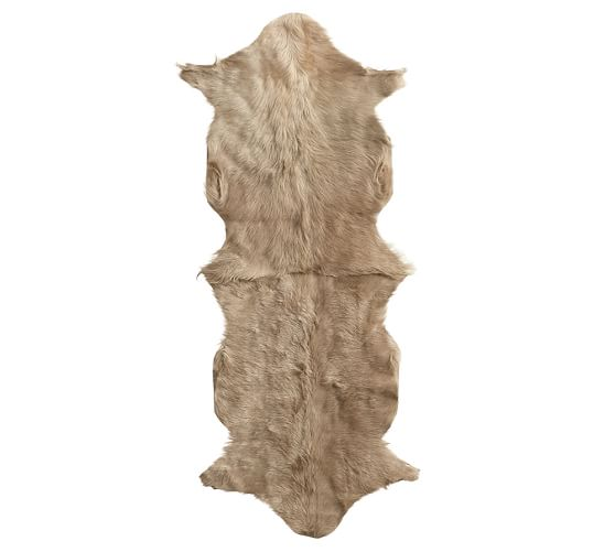 Goat Hide Rug Pottery Barn