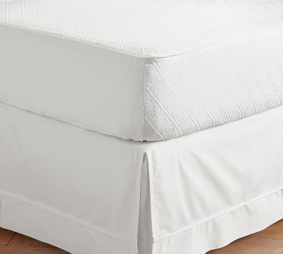 Reeve Matelasse Organic Daybed Mattress Cover