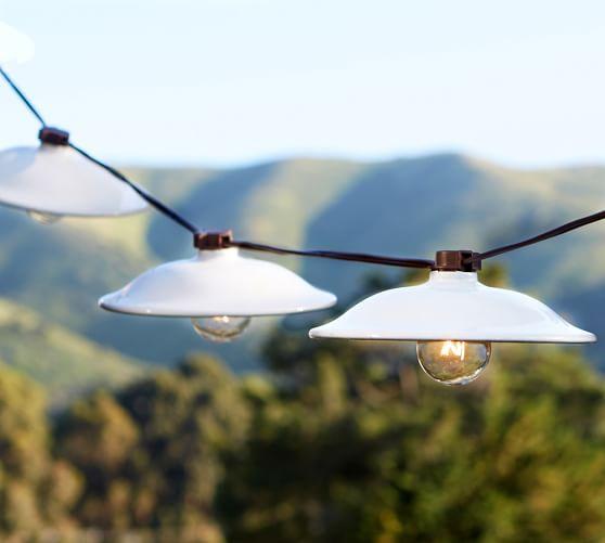 Cafe String Lights: Cafe String Lights - White