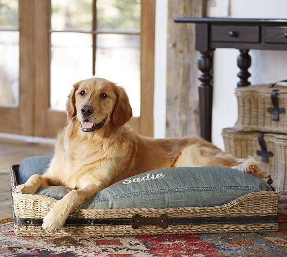 Jacquelyne Dog Bed Basket