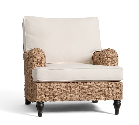 Fisher Woven Seagrass Armchair