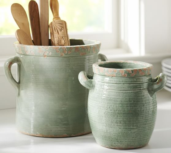 Rustic Cucina Crocks - Blue