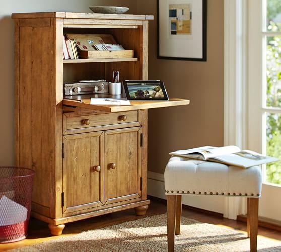 cortona office armoire pottery barn armoire office desk