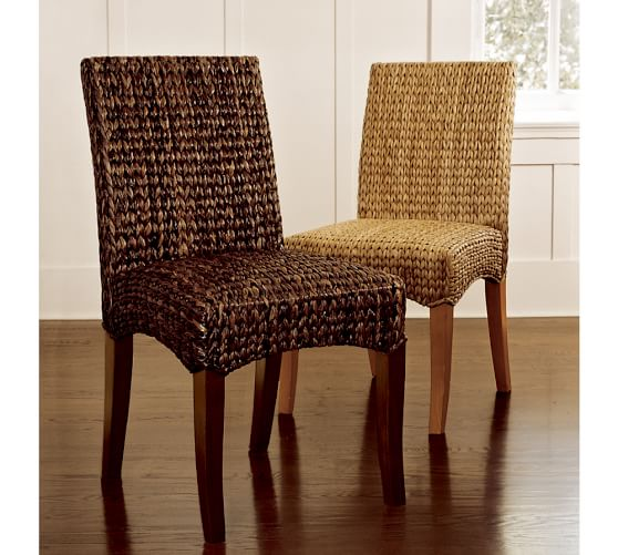 Pottery Barn Chairs Accent: Seagrass Side Chair