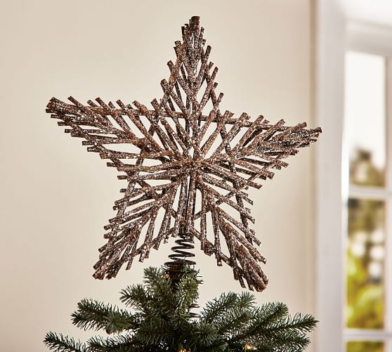 Twig Star Tree Topper | Pottery Barn