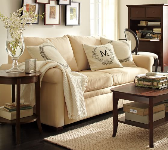 Pb deluxe upholstered sleeper sofa pottery barn for Sofa deluxe