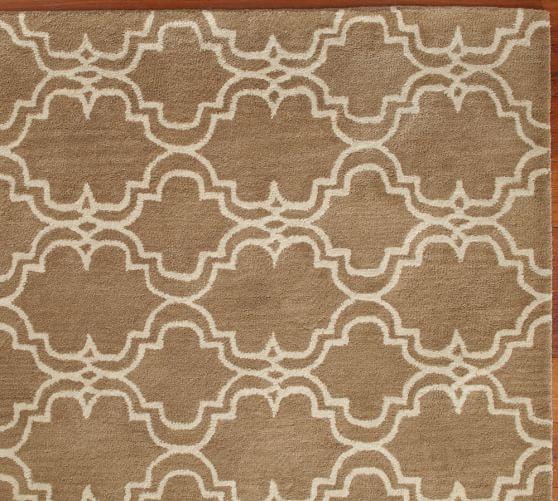 Scroll Tile Rug Swatch