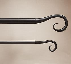 Iron Curtain Rods Gallery