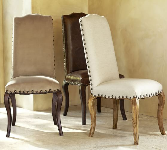 Pottery Barn Montego Chairs: Calais Side Chair - Quick Ship