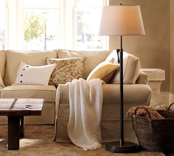 Sutter Adjustable Lever Floor Lamp Base
