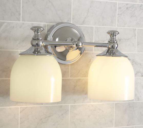 Mercer Double Sconce Pottery Barn