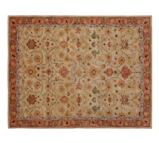 Why Adding A Rug Under Dining Table Sets Is A Must: Elham Persian-Style Rug