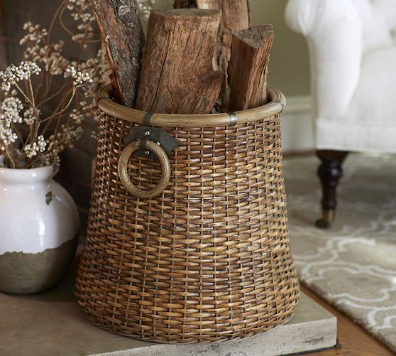 grain basket pottery barn. Black Bedroom Furniture Sets. Home Design Ideas