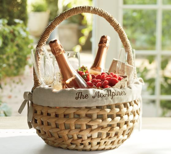 Woven Easter Basket Liner Pottery Barn