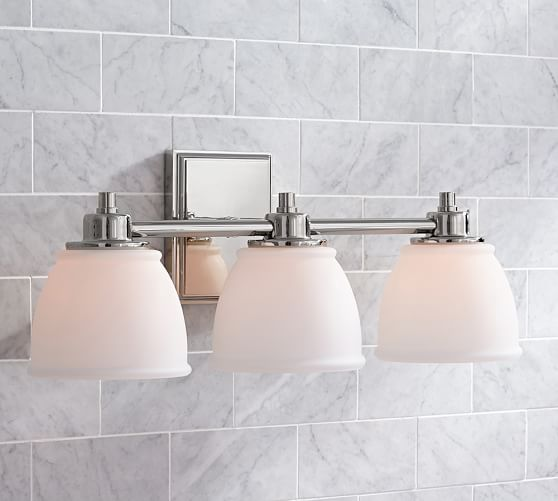 Triple Sconce Bathroom: Hayden Traditional Triple Sconce