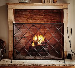 Fireplace Accessories Pottery Barn