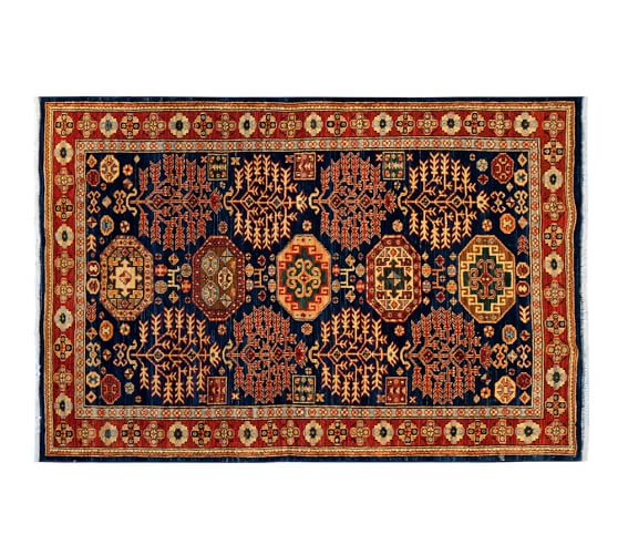 arzu studio hope prevail hand knotted rug pottery barn