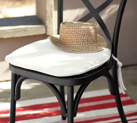 Sunbrella 174 Bistro Chair Amp Barstool Cushion Pottery Barn