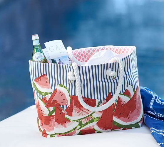 Sweet Watermelon Beach Bag Video