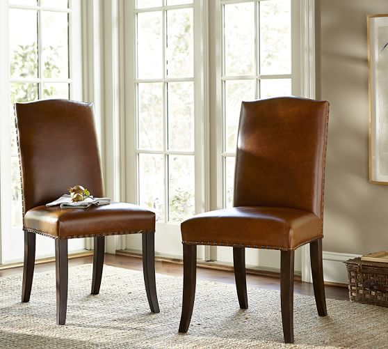 Staten Leather Side Chair