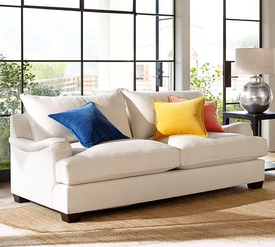 Pottery Barn Leather Sofas Reviews: PB Comfort English Arm Upholstered Sofa