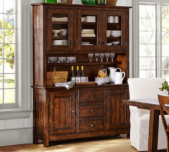 Benchwright Buffet amp Hutch Pottery Barn