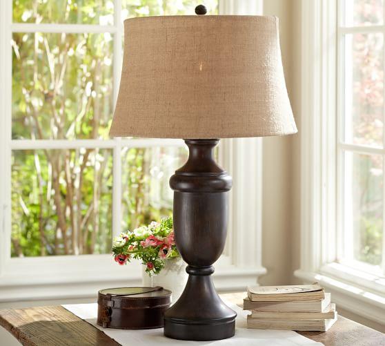 brentwood table lamp base pottery barn. Black Bedroom Furniture Sets. Home Design Ideas