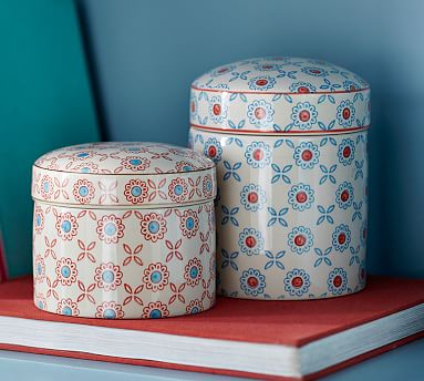 lannie canisters pottery barn