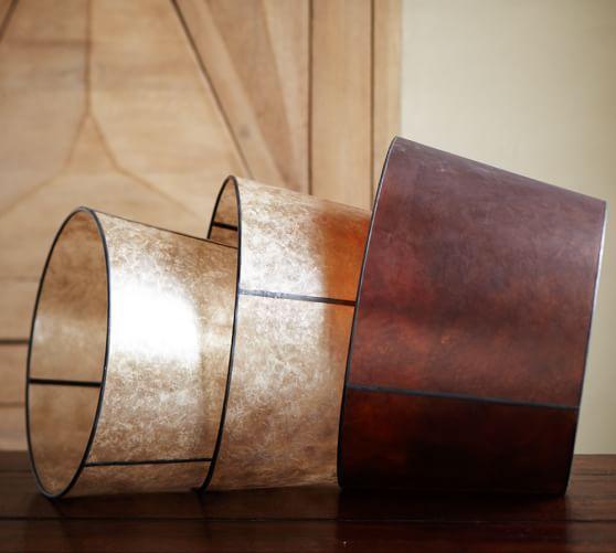 Pottery Barn Hanging Lamp Shades: Mica Tapered Drum Lamp Shade