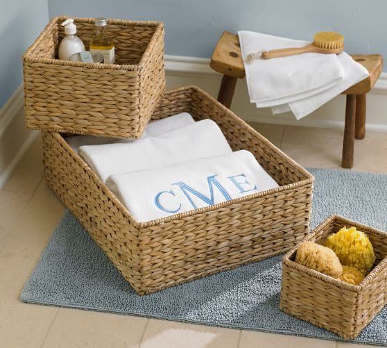 Going Coastal Pottery Barn Part I: Newport Baskets