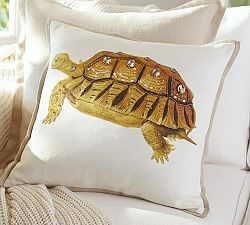 Pauline Boyd Patchwork Coastline Pillow Cover Pottery Barn