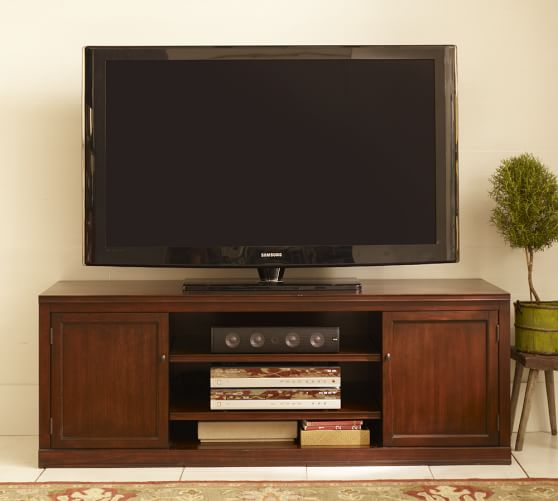 Logan Large Tv Stand Pottery Barn