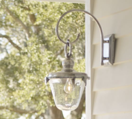 Patio Lights Pottery Barn: Ashton Indoor/Outdoor Sconce