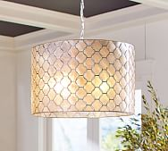 Mia Faceted Crystal Chandelier Pottery Barn