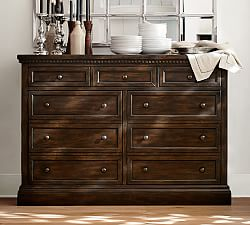 sideboards   buffet tables pottery barn