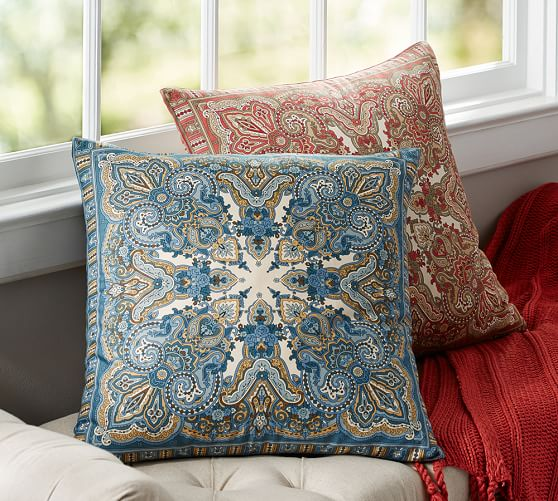 Mansfield Print Pillow Cover