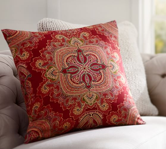 Ainsley Paisley Pillow Cover Pottery Barn
