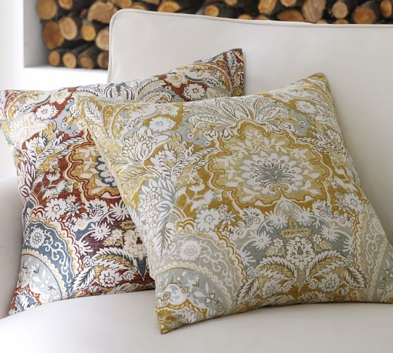 Pottery Barn Decorative Bed Pillows : Celeste Pillow Cover Pottery Barn