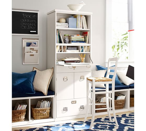 bedford office work tower pottery barn