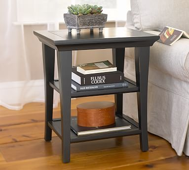 Designer Love Side Tables - Pottery barn cassie coffee table