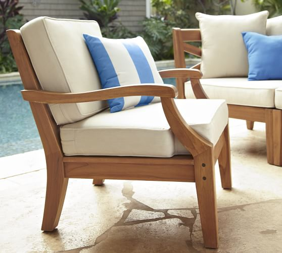 Hampstead custom fit outdoor furniture covers pottery barn for Pottery barn patio furniture
